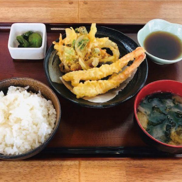 海老天ぷら定食